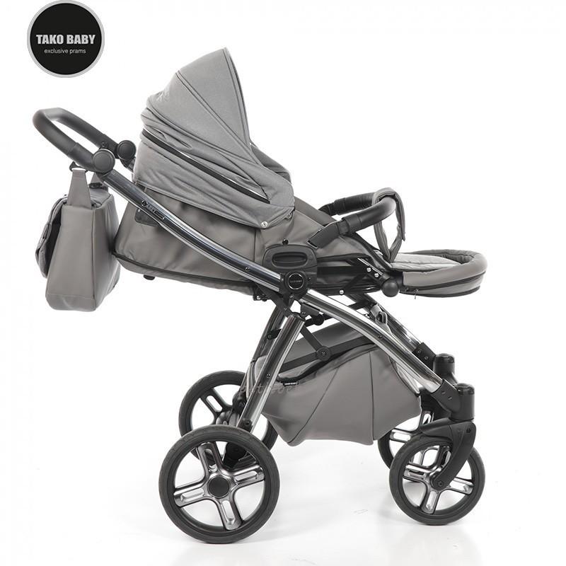 Tako Baby Duo Laret Classic 04 Dark Grey e Alluminio