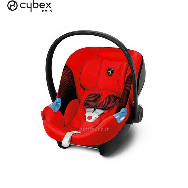 Cybex Gold Seggiolino Aton M i-Size for Scuderia Ferrari Racing Red
