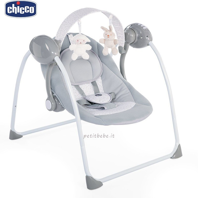 Chicco Altalena Relax & Play Cool Grey