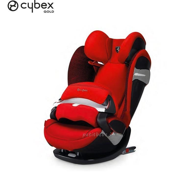 Cybex Gold Pallas S-Fix for Scuderia Ferrari Racing Red