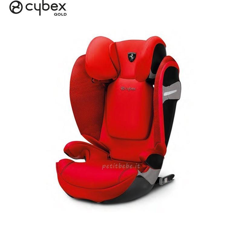 Cybex Gold Seggiolino Solution S-Fix for Scuderia Ferrari Racing Red