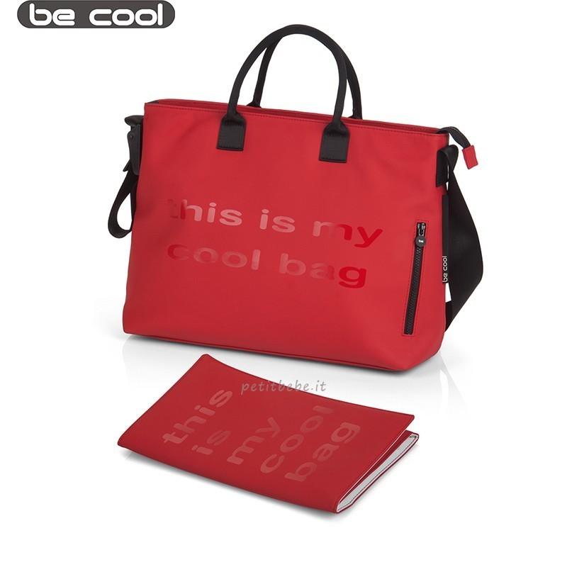 Be Cool Borsa Mama Bag Red