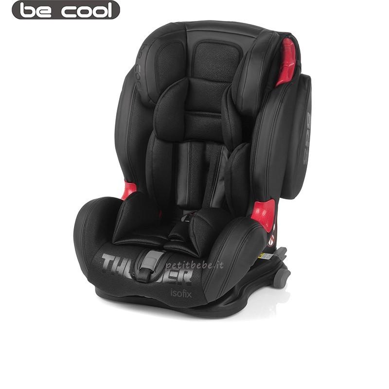 Be Cool Seggiolino Thunder Isofix 693 Black Crown