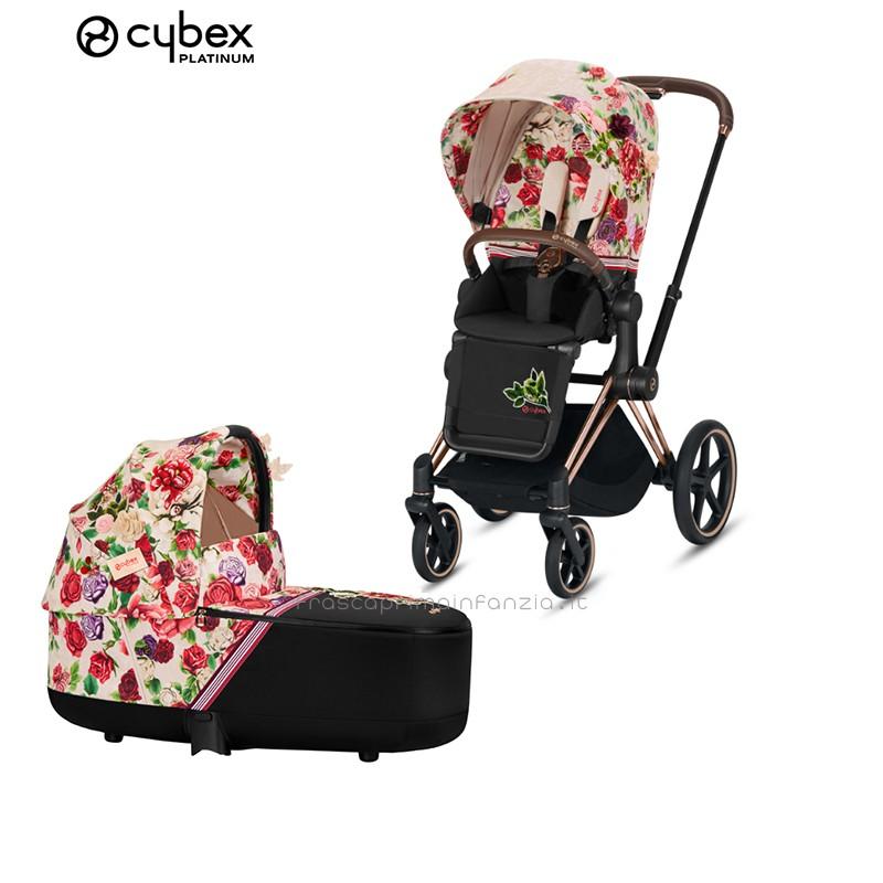 Cybex Duo Priam Spring Blossom