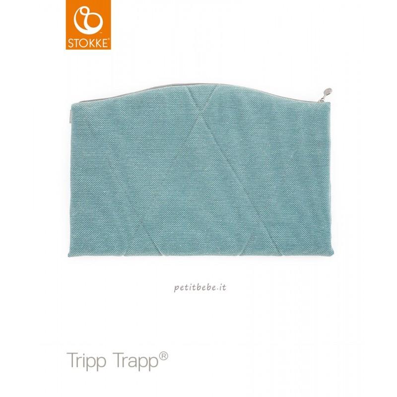 Stokke Junior Cushion per Tripp Trapp Jade Twill