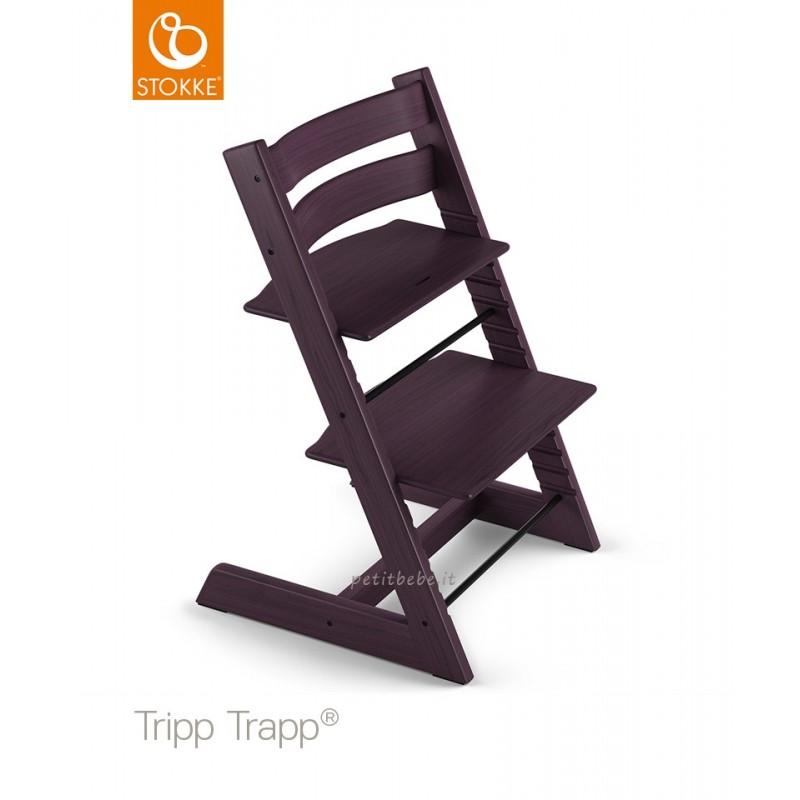 Stokke Sedia Tripp Trapp Faggio Plum Purple